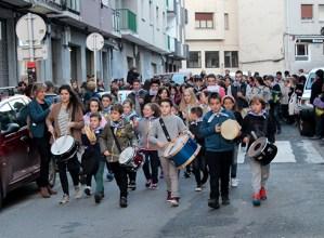Musika Eskolako ikasleek kalejira egingo dute gaur 17:00etan Santa Zezilia ospatzeko
