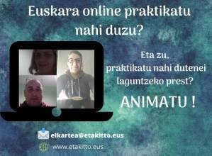 Euskeraz online, zergatik ez?