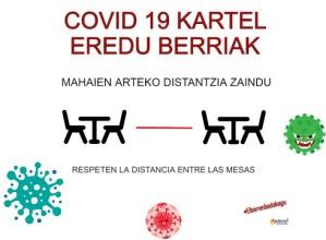COVID19 kartel eredu berri gehiago