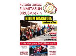 Zapatuan Bizum maratoia egingo da Zaporeak proiektuari laguntzeko