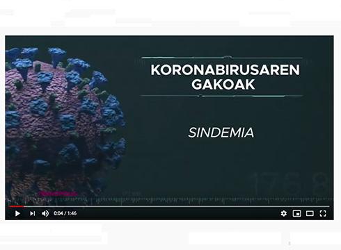Koronabirusaren ondorioz krisi ezberdinen arteko batura egoera bizi dugula azaldu du Ana Galarragak