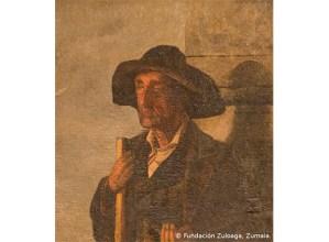 Ignacio Zuloagaren 'Arrateko itsua' margolana jarriko dute ikusgai gaur