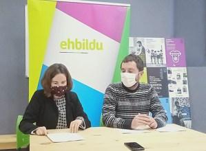 3,5 milioi euroko balioa duten 30 emendakin aurkeztu dizkio EH Bilduk aurrekontu zirriborroari