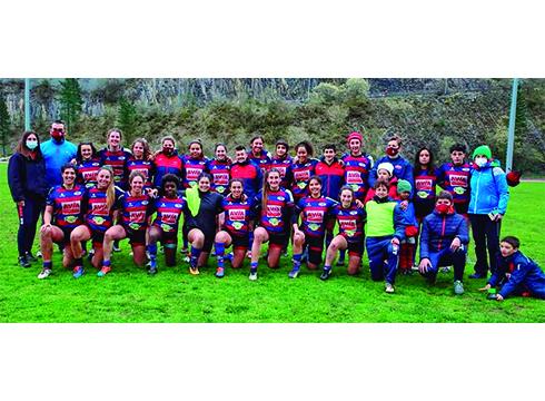 Asteburu borobila Eibar Rugby Taldearentzat