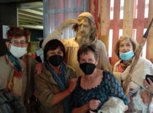 Albaolako museoa bisitatu zuten asteburuan Berbetan programako berbalagunek