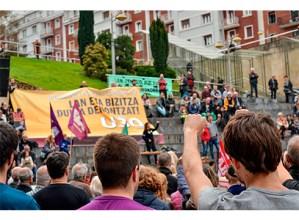 Aldaketaren Maiatzaren Lehena izatea nahi dute sindikatuek