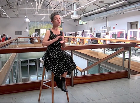 Hazkunde esponentzialari buruzko azalpenak ematen ditu Ana Galarragak gaurko bideoan