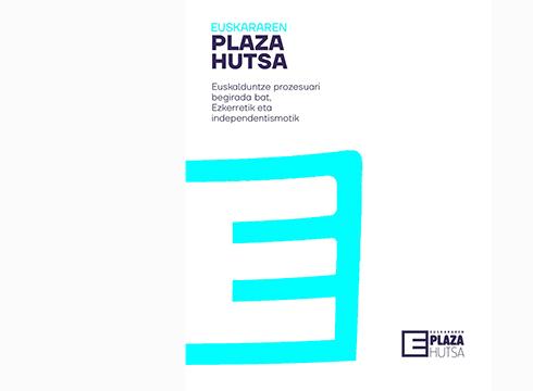Plaza Hutsa euskalgintza arloko egitasmoa aurkeztuko dute eguenean Kultun