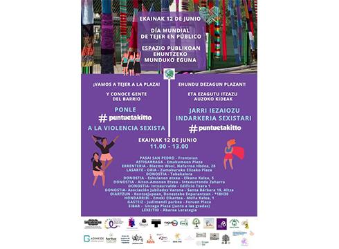 Untzaga plazan egingo du Matazak indarkeria sexistaren aurkako jai-ekitaldia