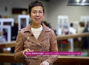 """Dosi bakarreko txertoaren eraginkortasunaz aritu da Ana Galarraga """"Koronabirusaren Gakoak"""" atalean"""