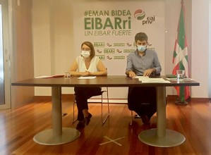 Etorkizunerako proiektu berria marraztea proposatu du EAJ-PNVk, agintaldiaren erdia bete denean