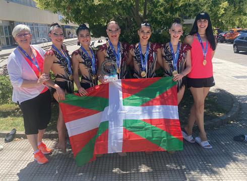 Espainiako Kopa Ipurua gimnasia klubeko senior taldearentzat