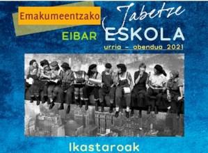Udazkeneko Jabetze Eskolako ikastaroetan aurrematrikula egiteko epea irailaren 30era arte egongo da zabalik