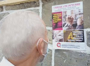 Pentsionisten mugimenduak deituta bihar eskualde mailako manifestazioa irtengo da 12:00etan Untzagatik