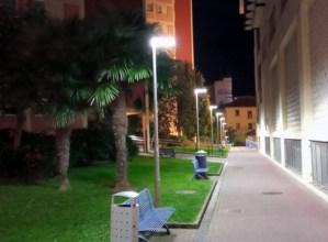 LED argiak jarriko dituzte Azitaingo industrialdean eta Romualdo Galdos kalean