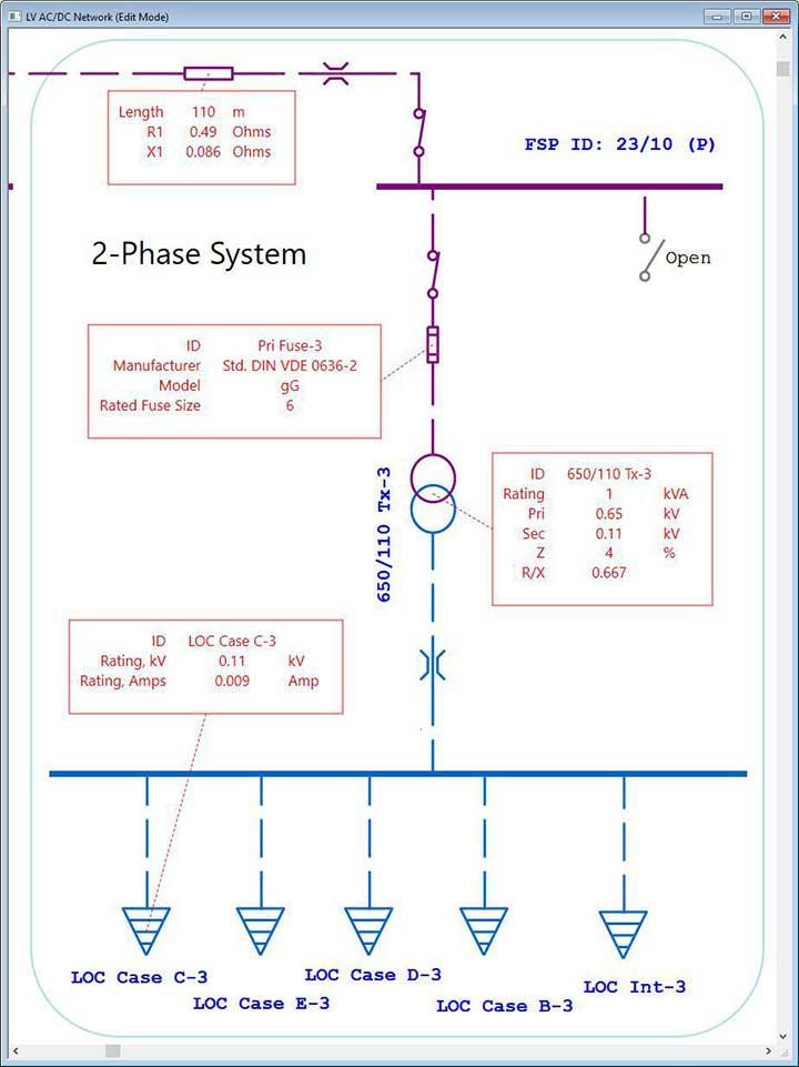 Electrical SingleLine Diagram   Intelligent One Line
