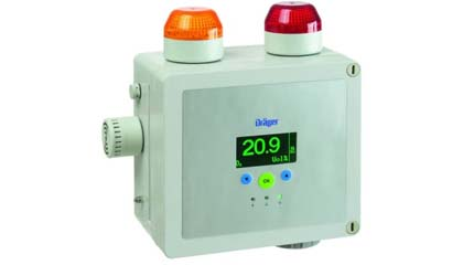 Draeger Point Guard 2000 Series - Self Contained Gas Detection Alarm System
