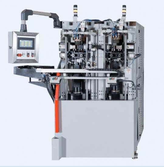 KVA Twin Head Servoelektrischer Stauchapparat mit automatischer Beladung und Amboss-Indexierung