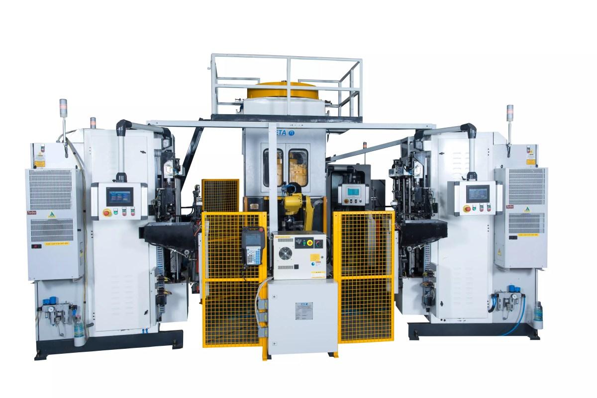 Hochgeschwindigkeits-Produktionszelle für Motorventilschmiedeteile