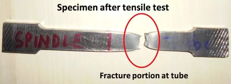 fracture portion
