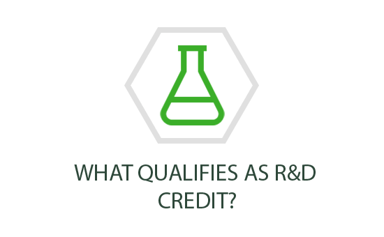 What qualifies as R&D Credit?