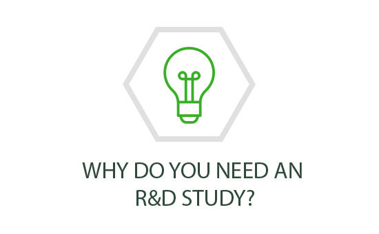 Why do you need an R&D study?