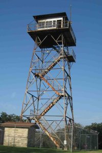 rich mountain fire tower