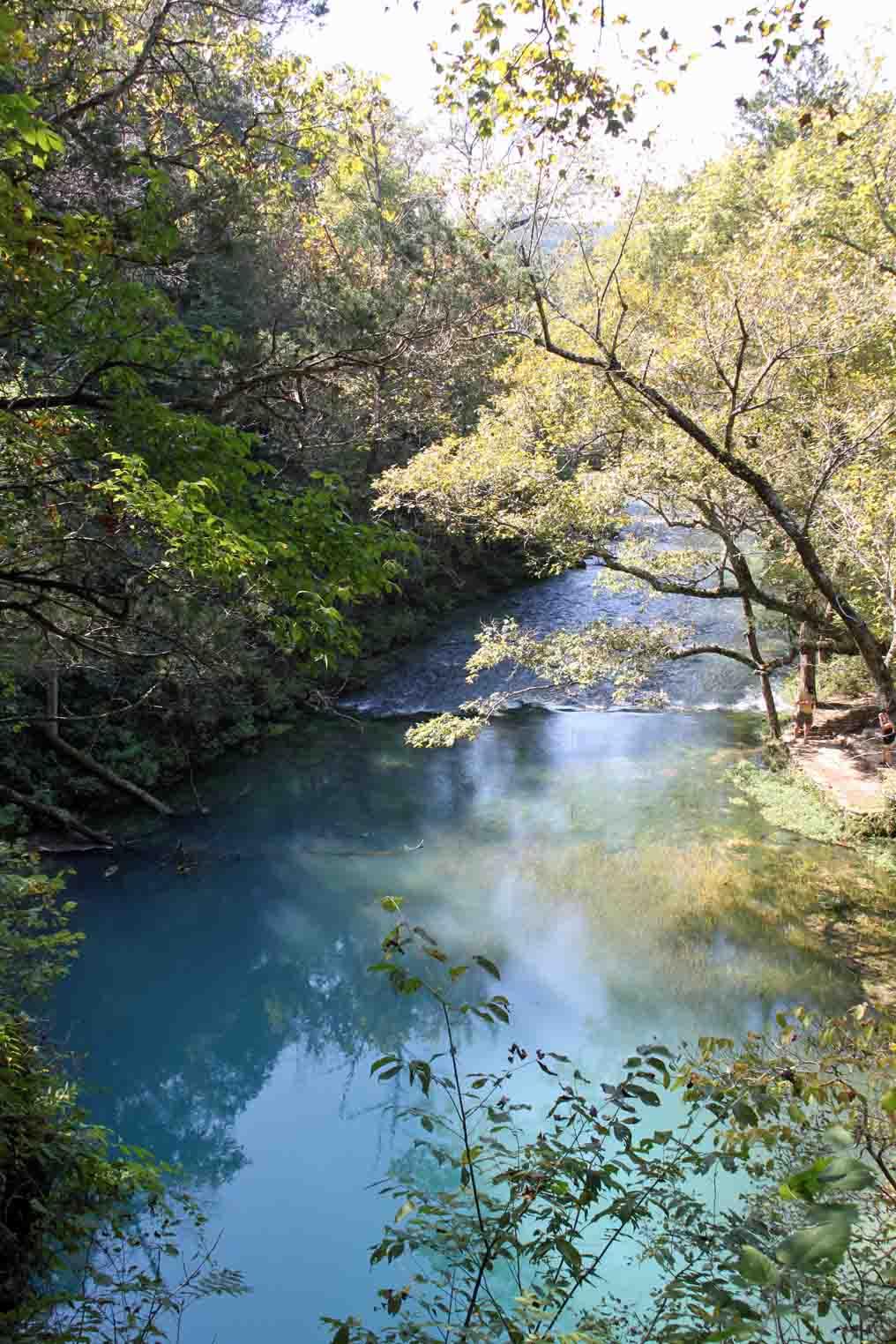 blue spring in the missouri ozarks