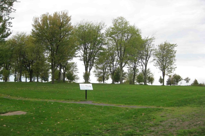 sackets harbor battlefield on the scenic seaway trail