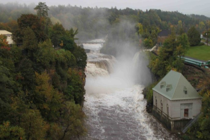 Ausable Chasm on the Lake Champlain Loop