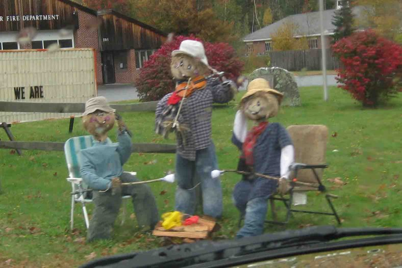 scarecrows in vermont