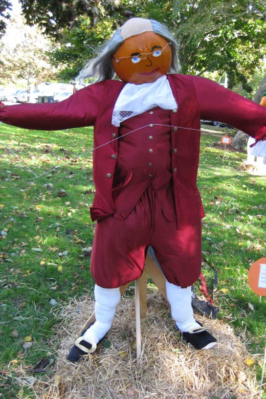 pumpkin people in Chatham, Massachusetts