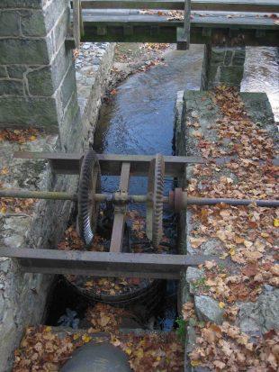 water turbine, hagley museum