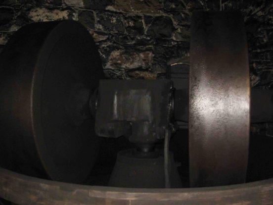 hagley museum, gunpower mill wheel