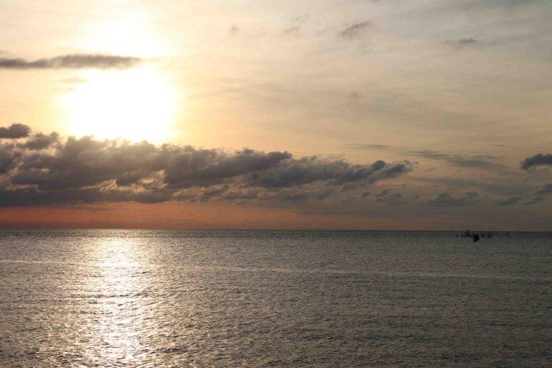 sunset over Chesapeake Bay Maryland