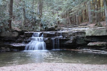 swallow falls state park, northwestern maryland