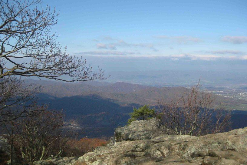 view at Shenandoah National Park