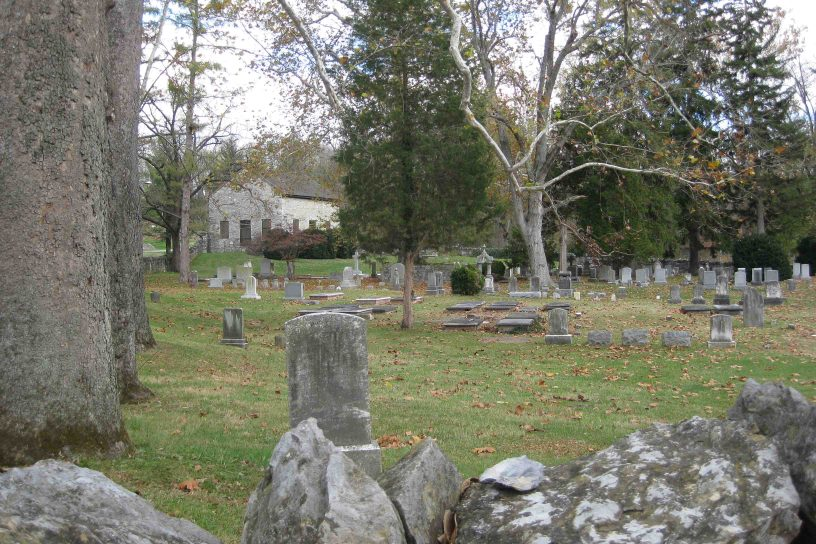 cemetery at the Old Chapel in Virginia