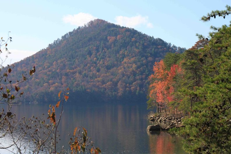 ocoee lake in Georgia