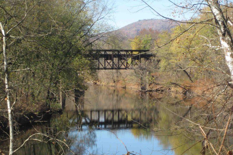 chesapeake and ohio bridge in northwestern maryland