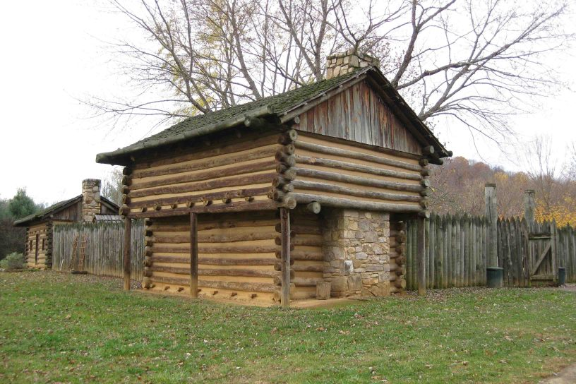 Fort Watauga on the East Tennessee border