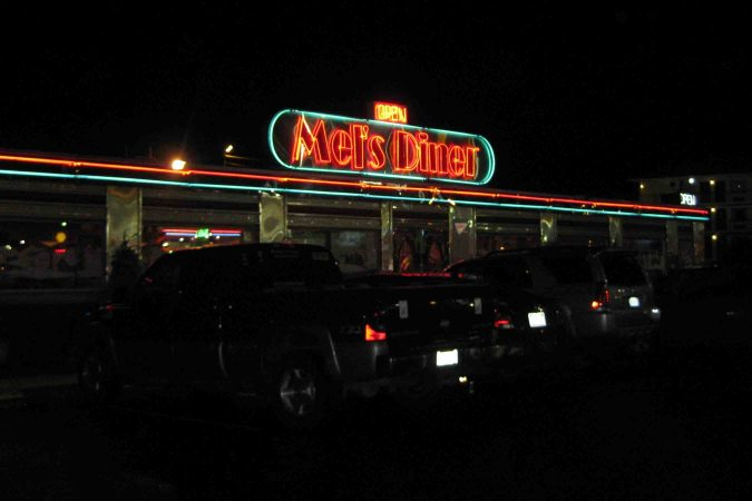 Mels Diner in Pigeon Forge Tennessee