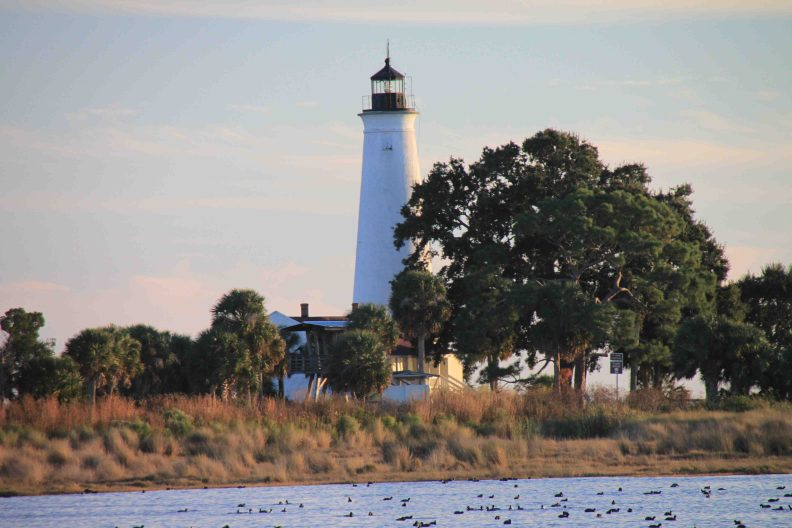st. marks lighthouse in the florida panhandle