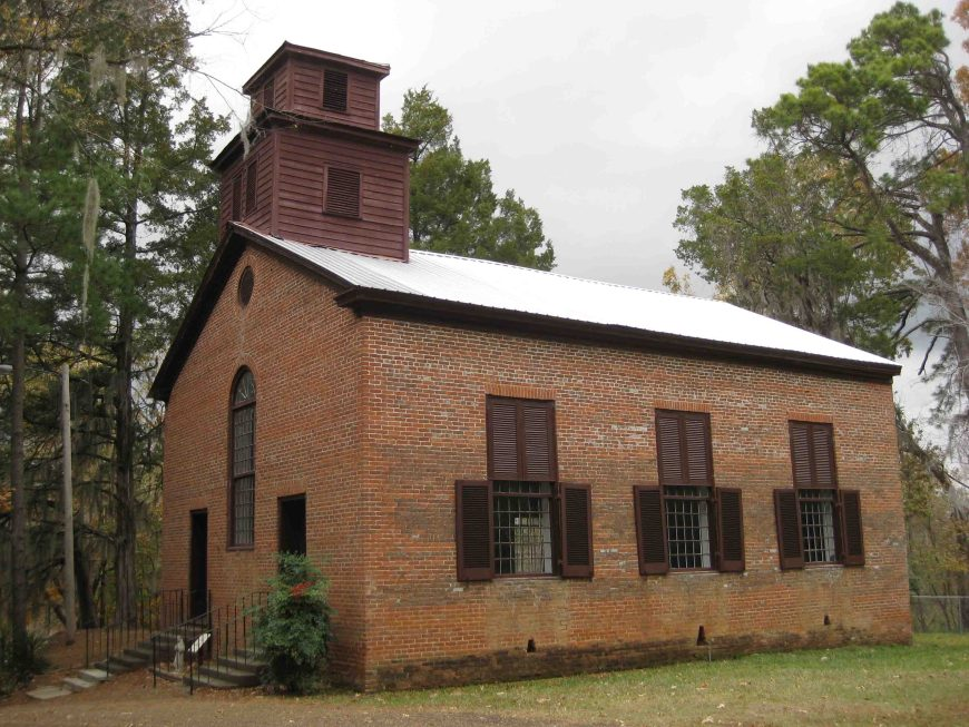 church at rocky springs on the scenicnatchez trace parkway