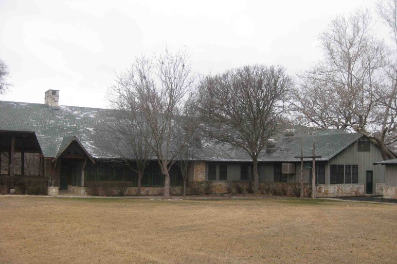 dining hall at camp mystic