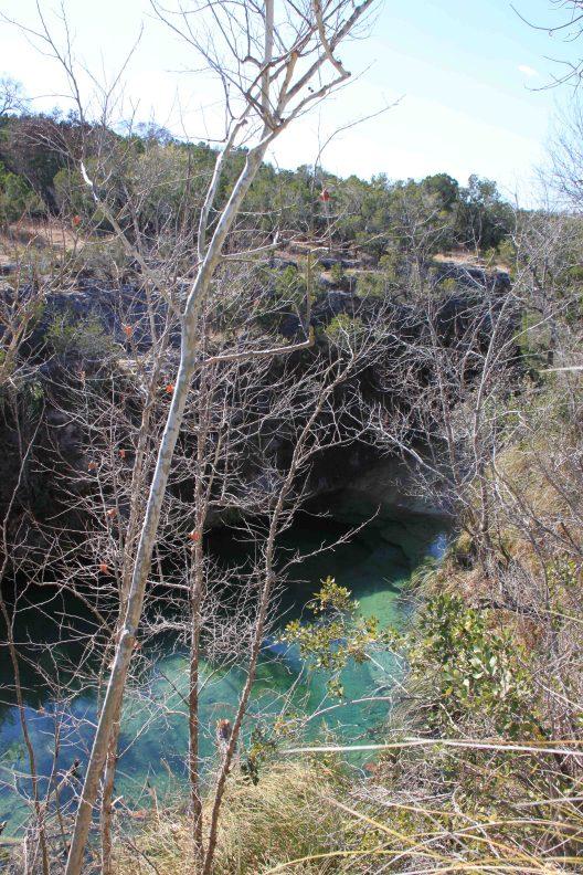 Aqua oasis in Pedernales Falls State Park