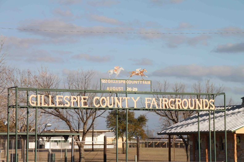 gillespie county fair grounds in the texas hill country