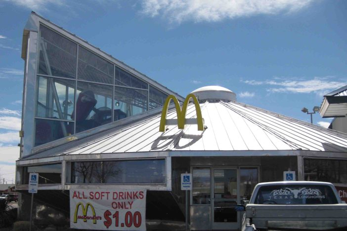 UFO McDonalds in Roswell New Mexico