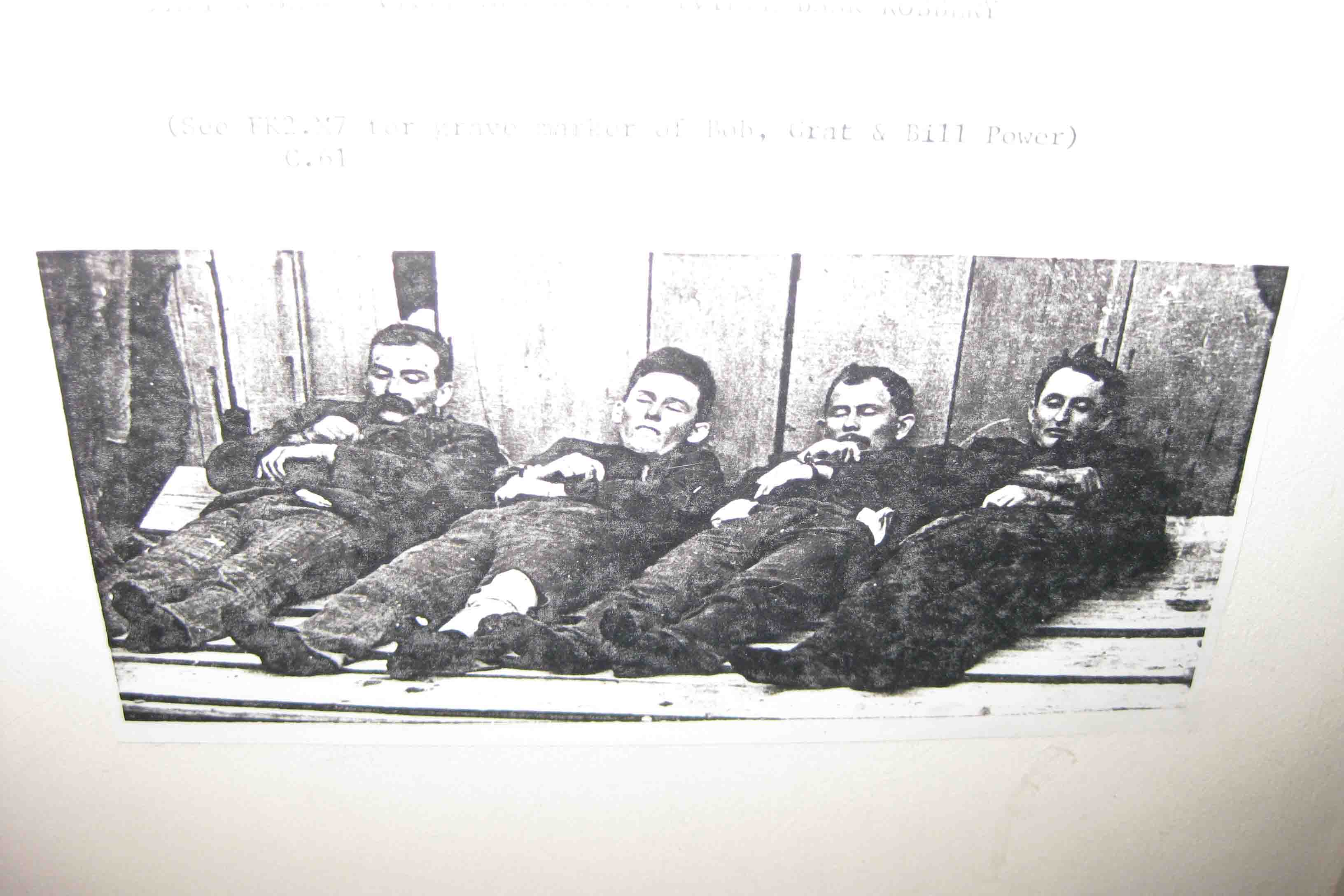 picture of the Dalton Gang