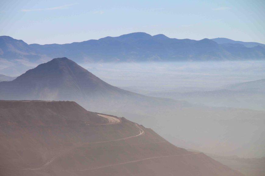 copper mine on the coronado trail